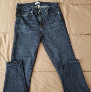 Good American High Waist Ankle Skinny Jeans